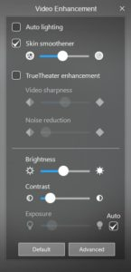 YouCam Video Enhancements