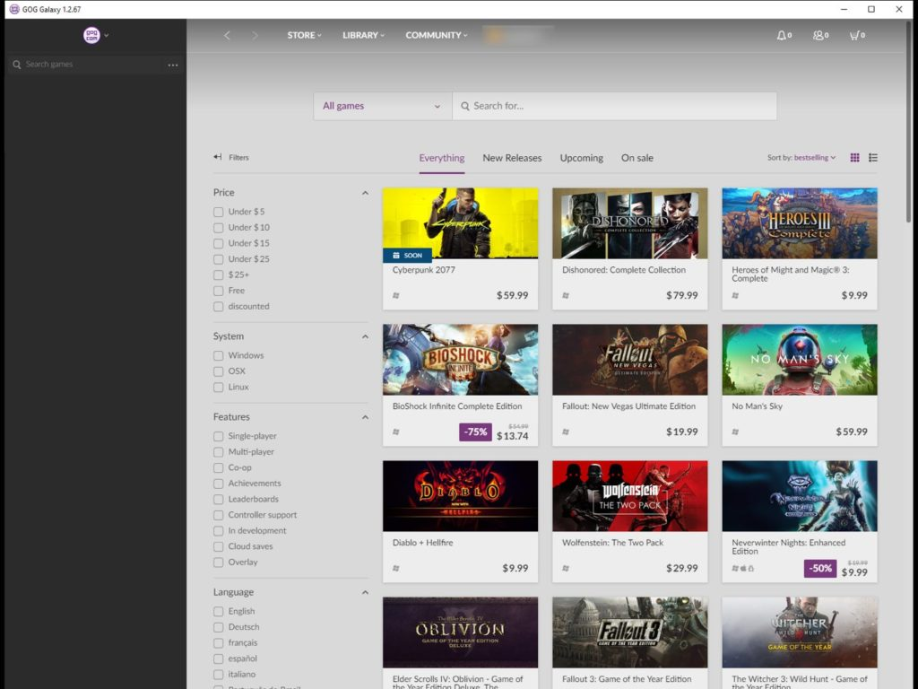 GOG Store