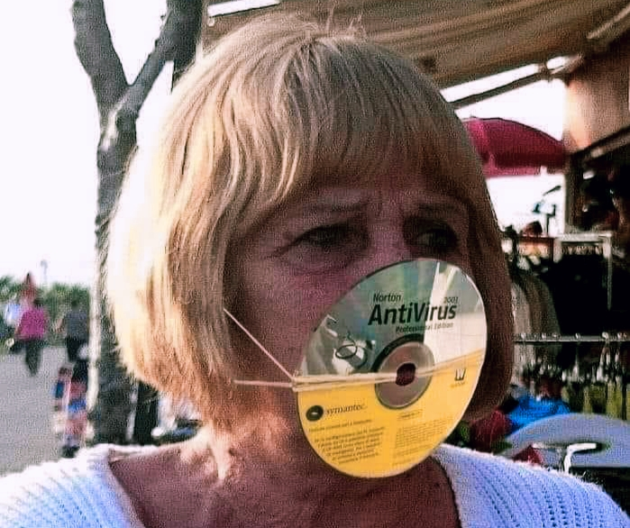 Norton AntiVirus Mask