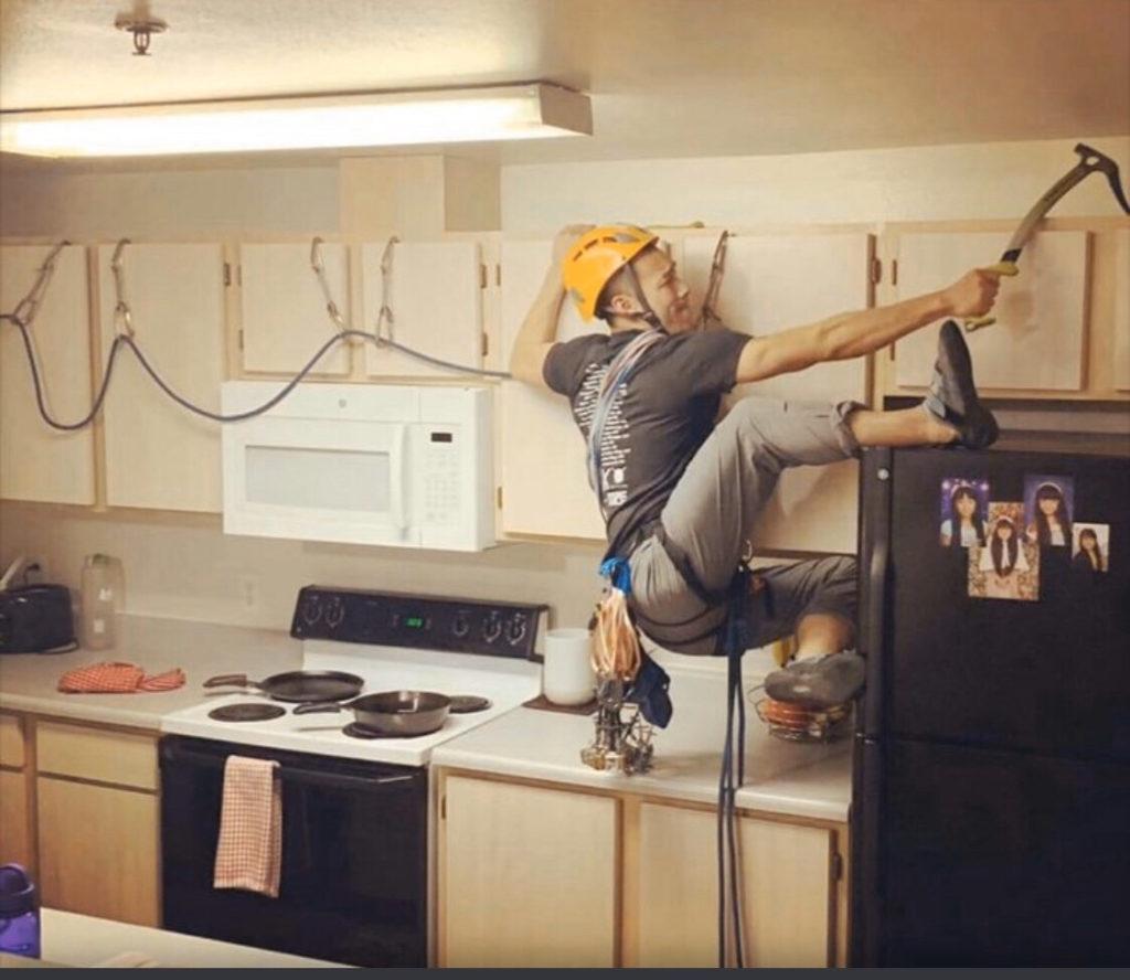 Quarantine Memes - Traversed the kitchen