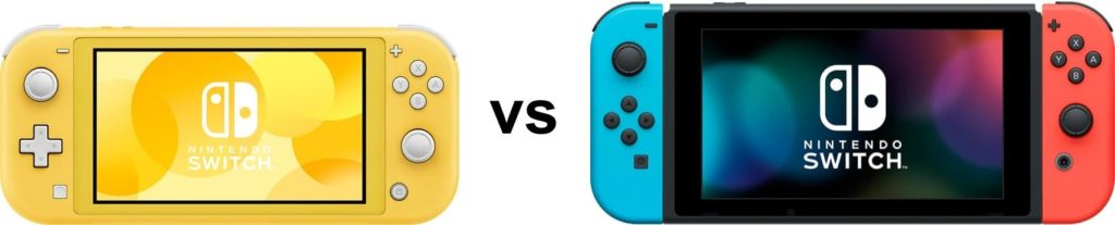 Nintendo Switch vs Nintendo Switch Lite